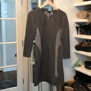 Theory gray dress